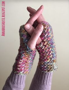 The Little Mitts free crochet pattern