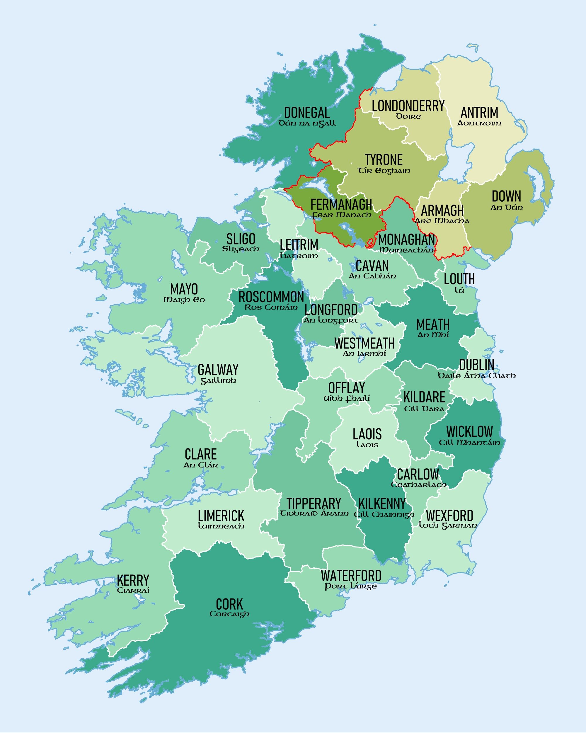 Map Of Ireland With Islands.Pin By Cayman Islands On Cayman Islands Photographyy Ireland Map