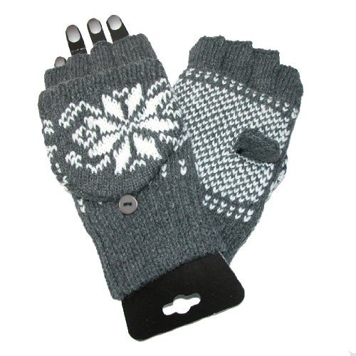 05bb28592cf Great unisex gloves with cut fingers and mitten flap. Thumb has a slit in  it for easy texting. These gloves are lined with super soft and warm 3M  Thinsulate ...