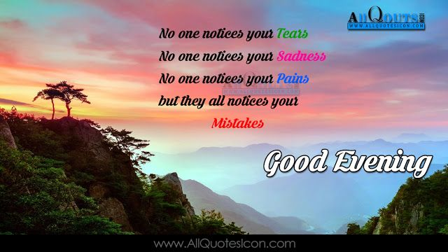 Good Evening Wallpapers English Quotes Wishes For Whatsapp Greetings