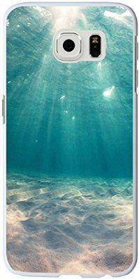 S6 Edge Case, Samsung Galaxy S6 Edge Case blue clean ocean water