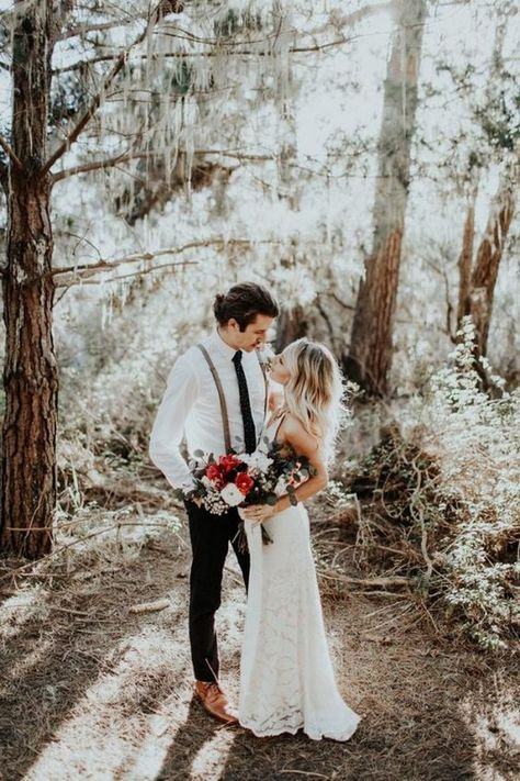 How to Elope in a Simple, Beautiful Way - Once Wed |Elopement Ideas