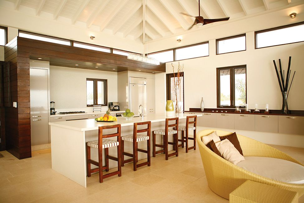 Modern Caribbean Architecture reinterpreted traditional caribbean architecture in a modern way