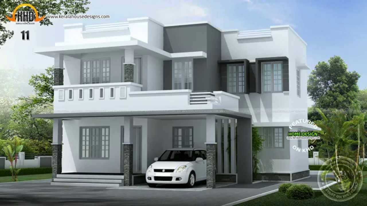 Kerala home design house designs may 2014 the best concrete houses for hot climates - Kerala exterior model homes ...
