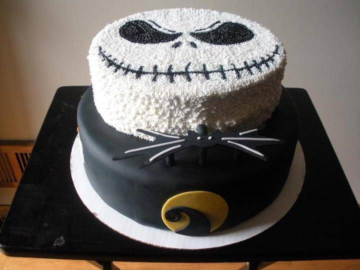 Nightmare Before Christmas Cake Cake Ideas Pinterest