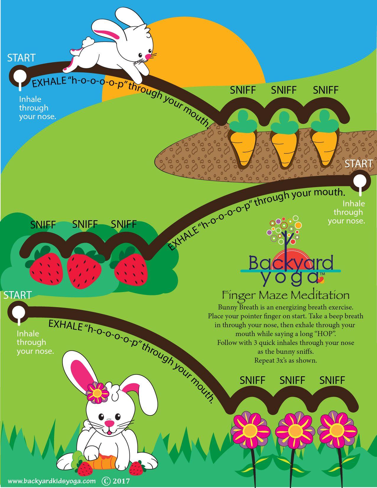 Happy Spring! Bunny Breath Meditation Maze Is Here