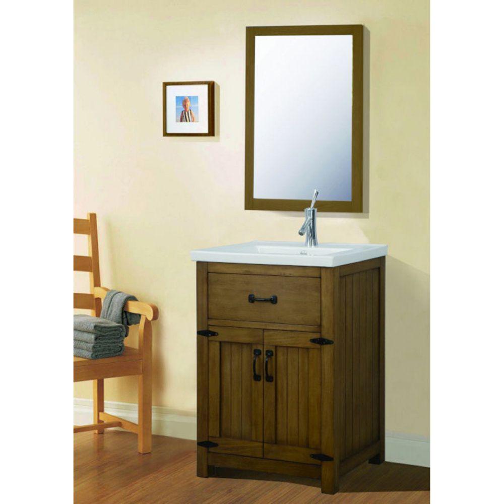 Legion Furniture WLF6044 M Universal Weathered Light Brown Mirrors