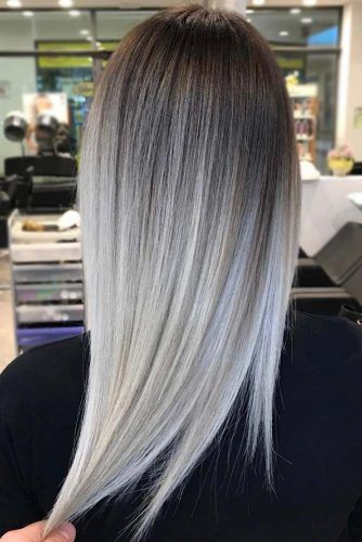 30 Try Grey Ombre Hair This Season #ombrehair