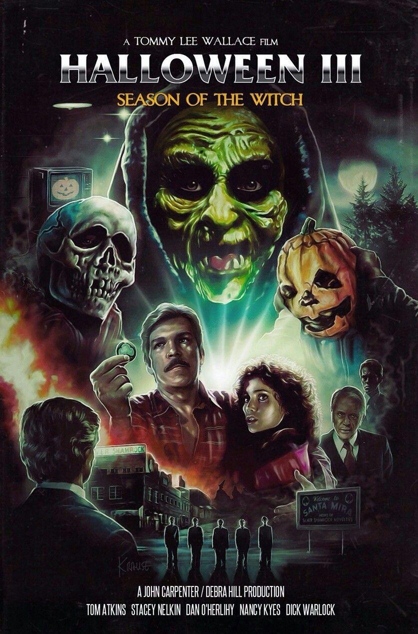 41334a0c0 HALLOWEEN III - SEASON OF THE WITCH | Horror Movie Art | Horror ...