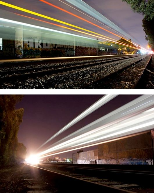 Streaking Trains: Photography by Aaron Durand.