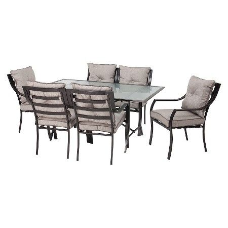 Lavallette 7 Piece Metal Patio Dining Furniture Set Target