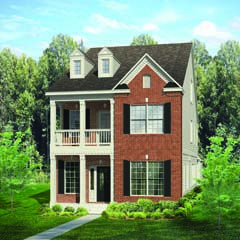 Jamestown Collection | Columbia - Georgian | Sweetwater - Apex, NC | ExperienceOne Homes