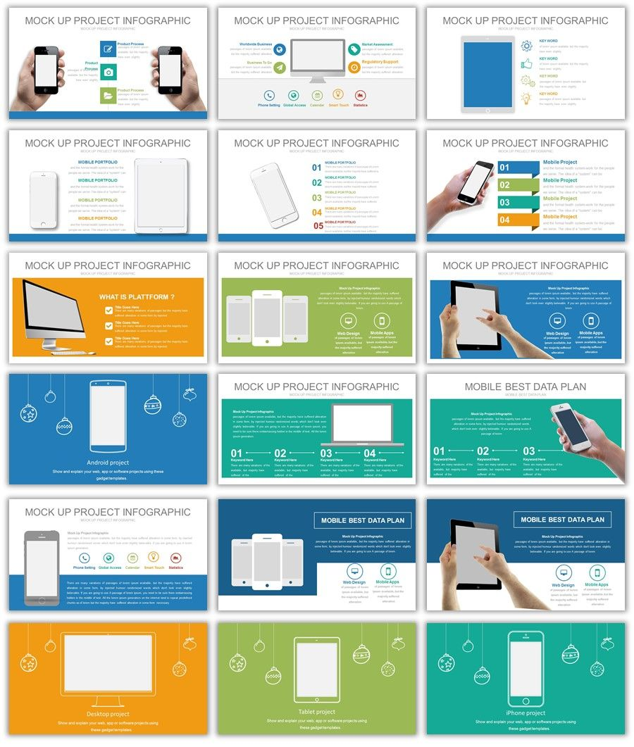 Mockups Powerpoint Powerpoint Website Mockup Powerpoint Templates