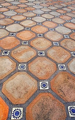Spanish Tile Floor Yes Please California Mediterranean