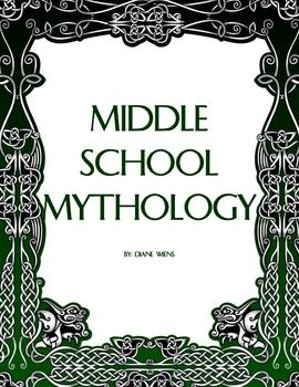 This 43-page unit is designed to teach middle school students about the purposes, elements, and characteristics of mythology. Lessons center around:  1. Pourquoi Tales - Myths to explain why things are the way they are 2. Myths to explain natural phenomena 3. Origin Stories - Myths to explain the creation of the world 4. Greek Mythology - The Olympian Gods