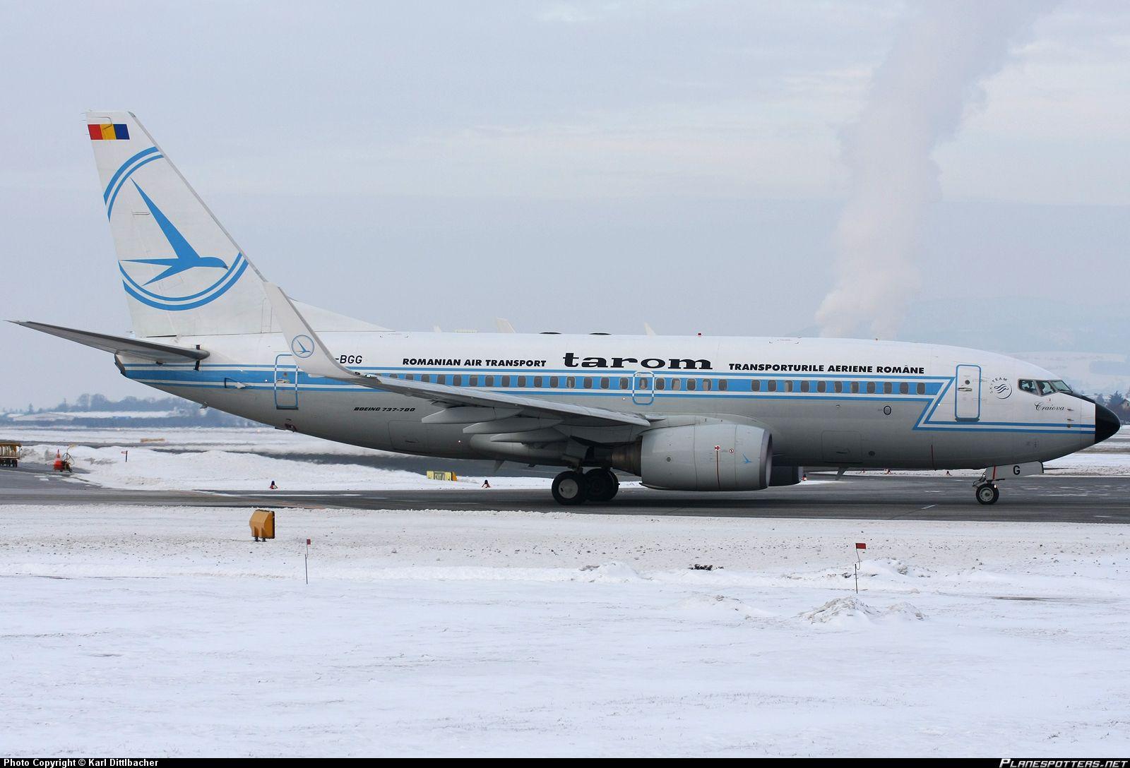 Romania :YR-BGG TAROM Boeing 737-78J(WL)