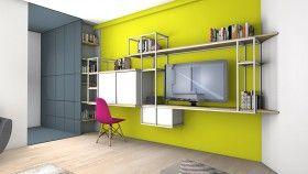 La Maison France 5 - Changer : création d'un bureau dans un séjour | Maison france 5, Maison ...