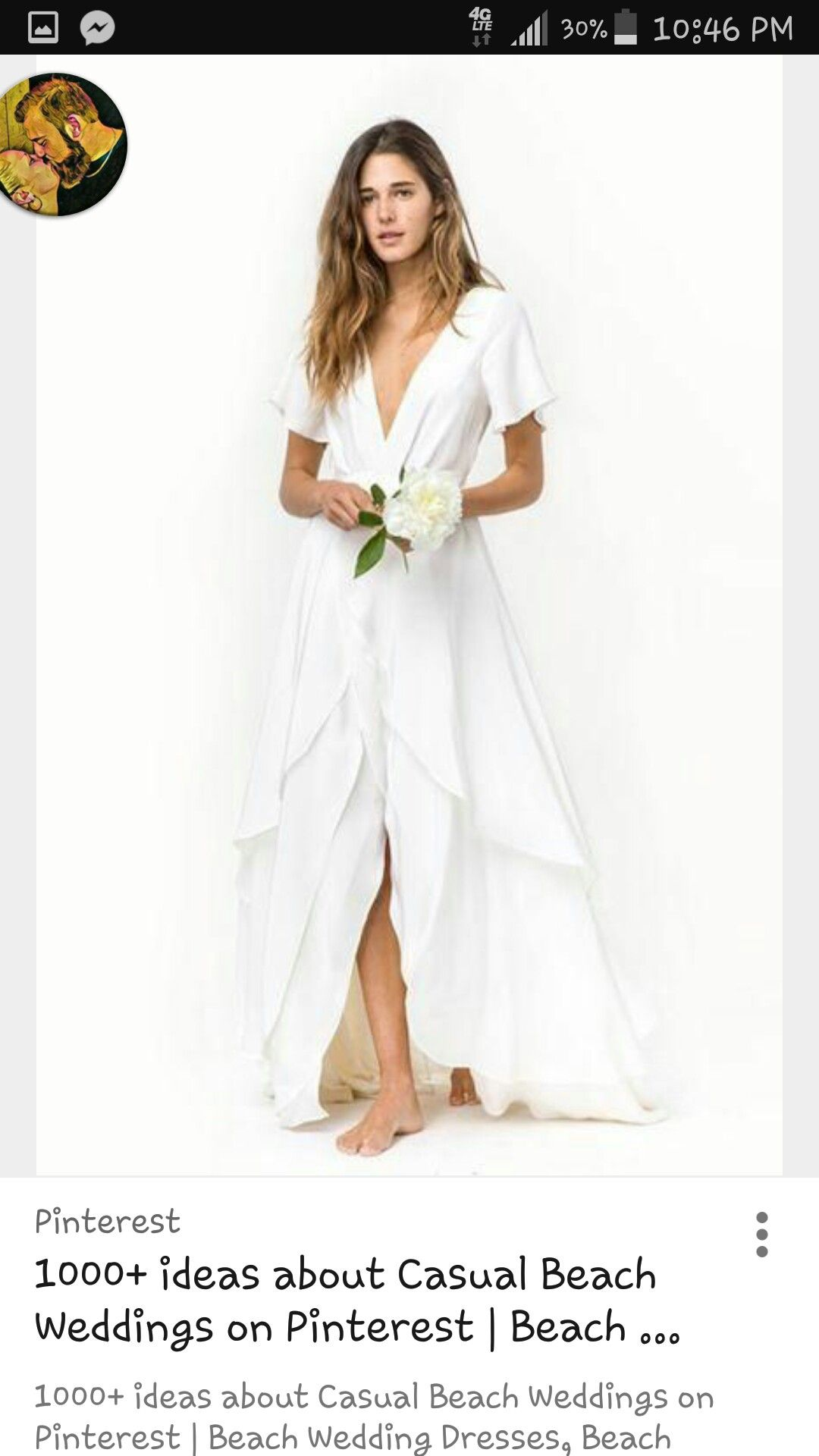 Pin by Danielle Tobias on casual wedding dresses Casual