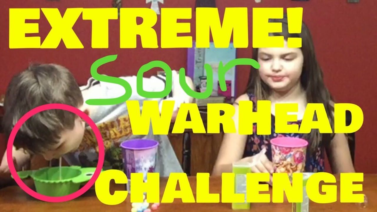 Extreme Sour Warhead Challenge Head To Head E C Youtube Challenges Extreme Warheads