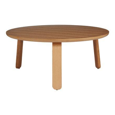 Mesa de centro de madera Neptuno   Centro, El ambiente y Mesas