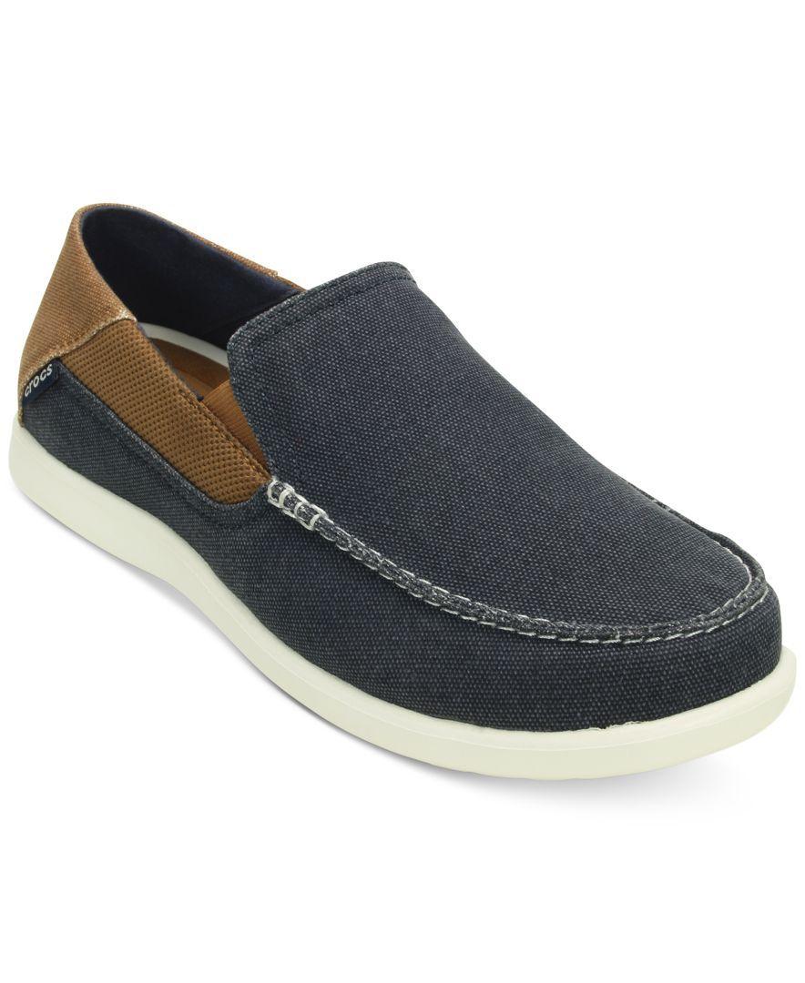 Crocs Men's Santa Cruz 2 Luxe Loafers - All Men's Shoes - Men - Macy's