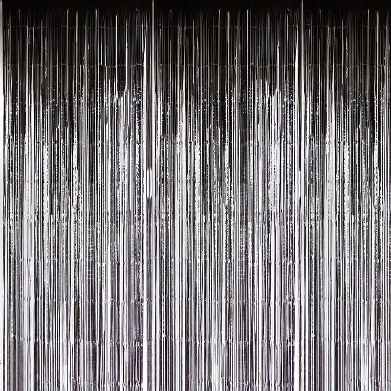 Black Foil Curtains Foil Curtain