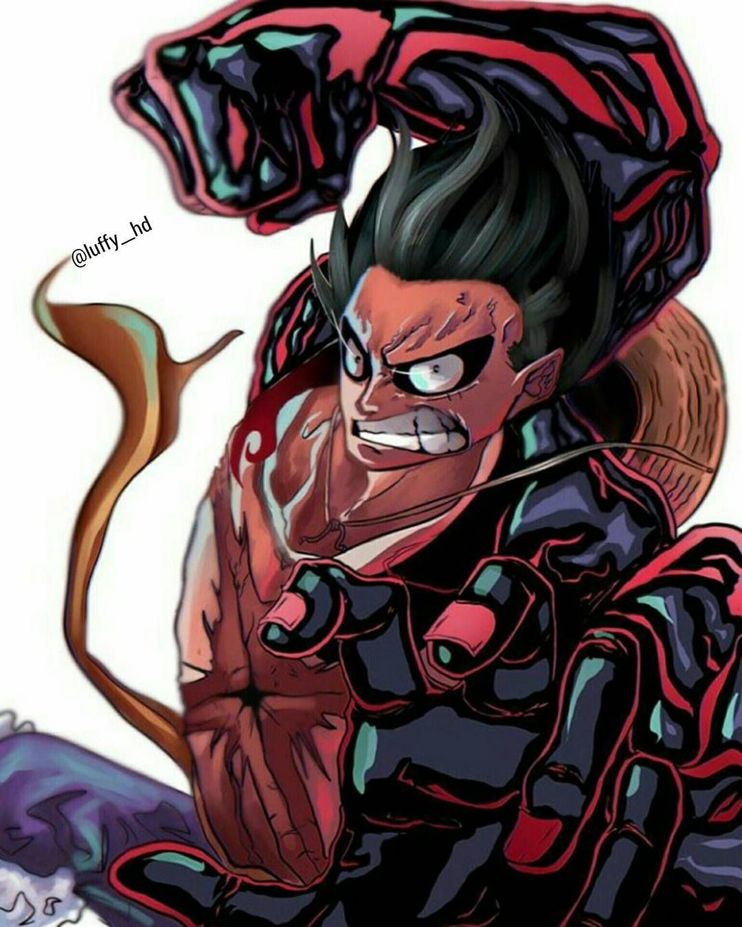Gear Fourth By Devilzsmile Com Devilzsmile Luffy Gear