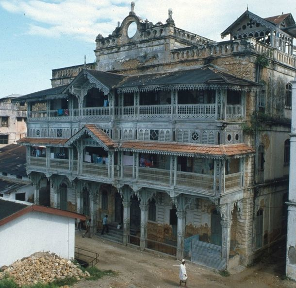 Old Dispensary Stone Town Zanzibar Architecture Dispensary
