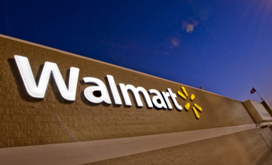 Walmart has moved its sustainability department and