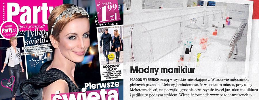 Nowy salon Pardon My French