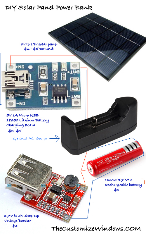 Diy Solar Panel Power Bank Trial For Home Solar Power In 2020 Diy Solar Panel Solar Power House Solar Power Panels