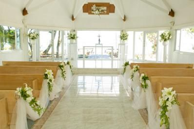 Church Wedding Decoration Add Blessedness To Your Wedding