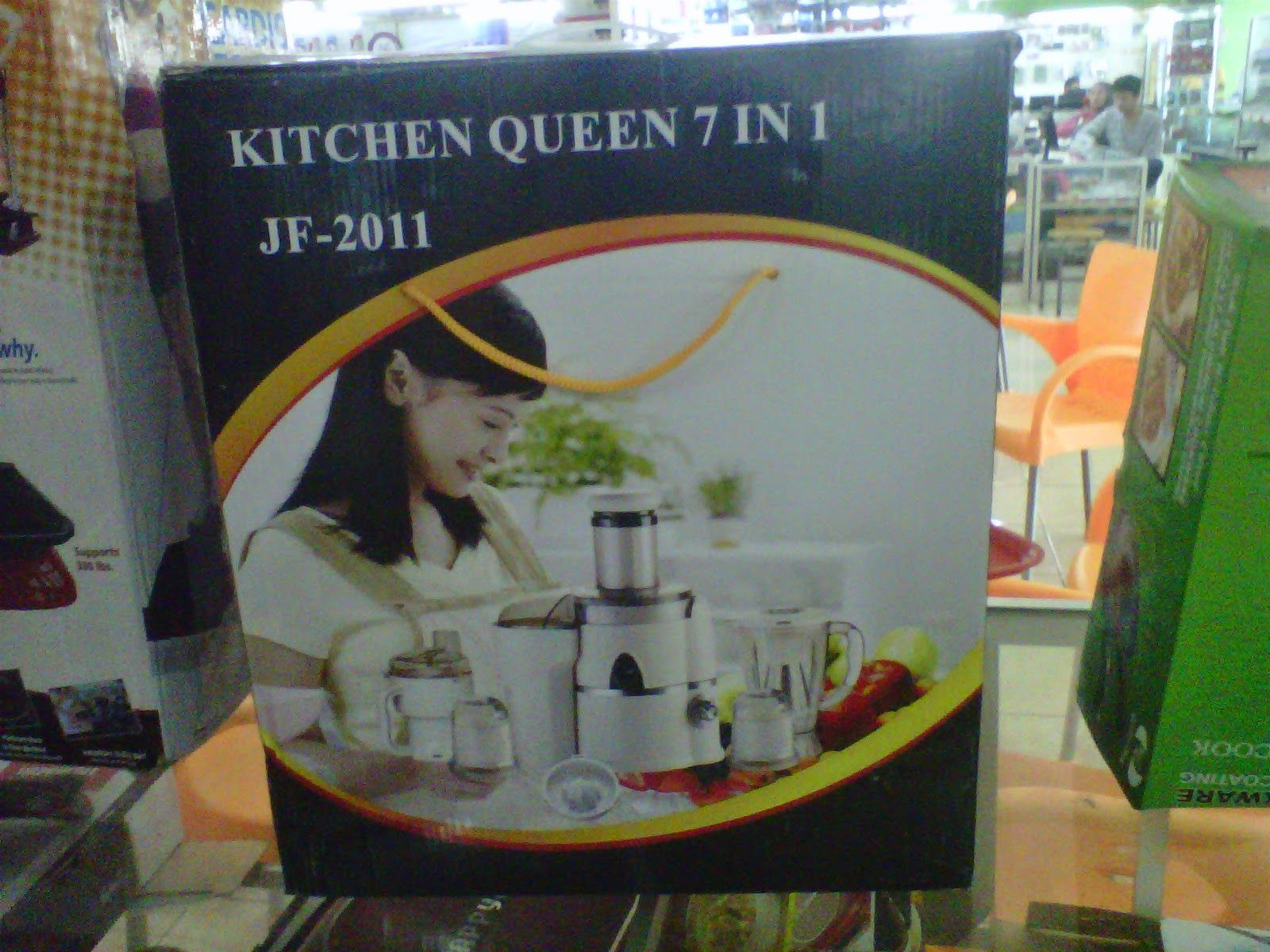 Bg Homeshoping Magelang Kitchen Queen 7 In 1 Jf 2011 Multifungsi Oxone Ox 929 Onion Ampamp Salad Slicer