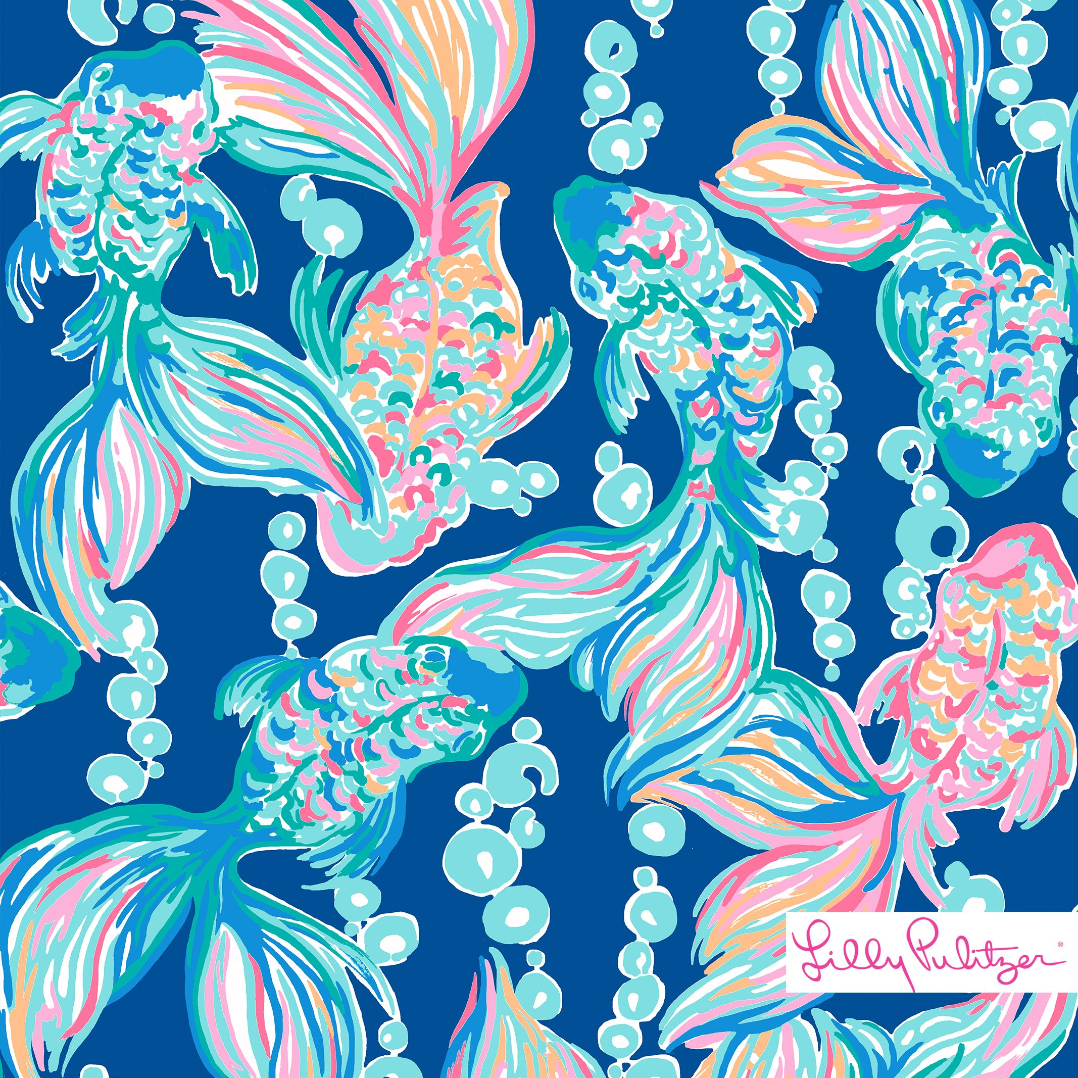 Lilly Pulitzer Print Pattern Design