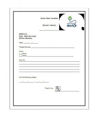 Download Bonus Doctor Notes Template   Design Services