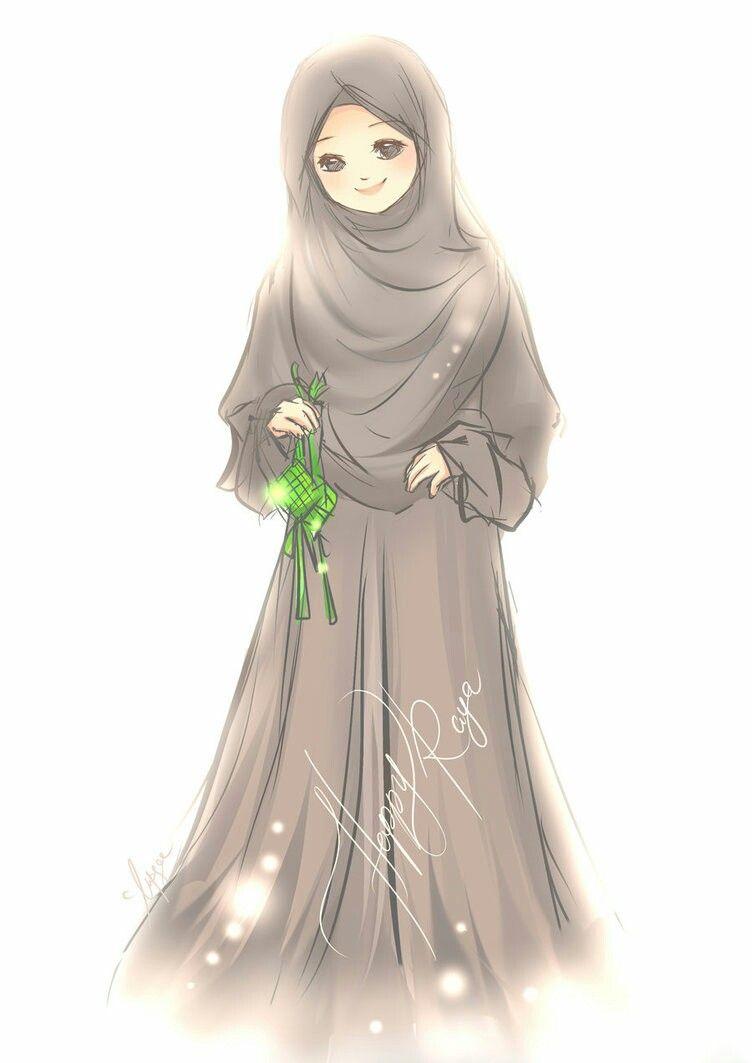 Pin Oleh Sandrita Alvarado Di Muslims Girl Anime Gambar Gambar Kartun Kartun