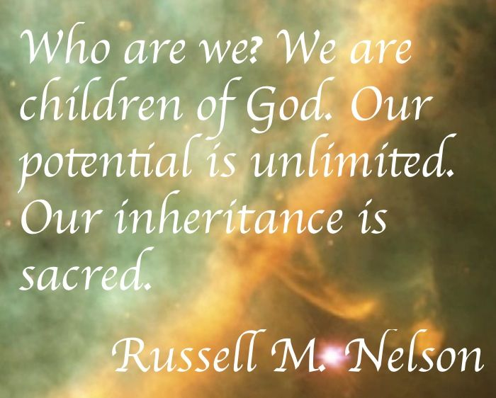 Who Are We? We Are Children Of God. ~~I Am A Child Of God