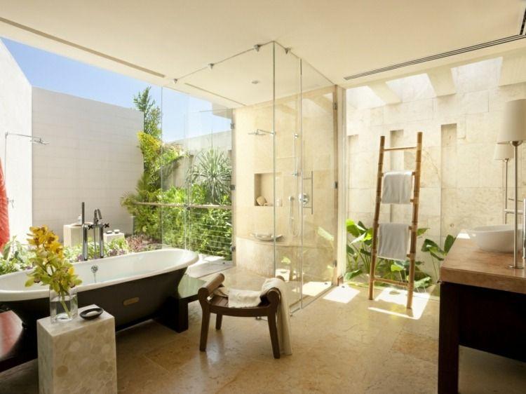 Stilvolle Badezimmermöbel aus Holz - Regale und Unterschränke Bad - badezimmermöbel aus holz