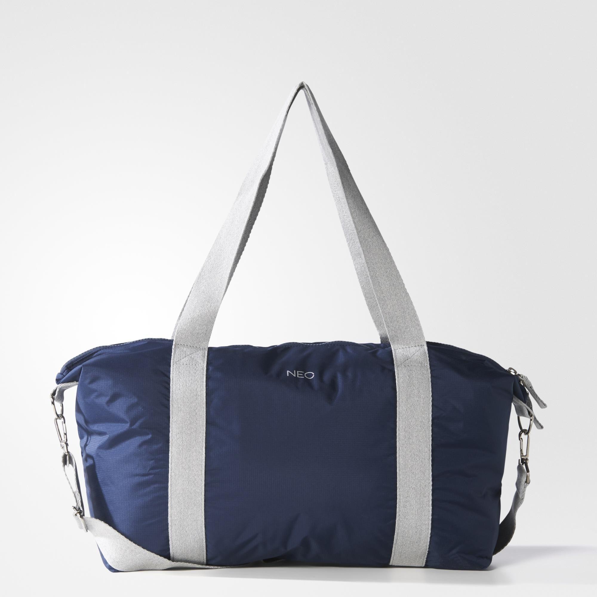 adidas Selena Gomez Weekend Bag - Blue | adidas UK | ADIDAS NEO ...