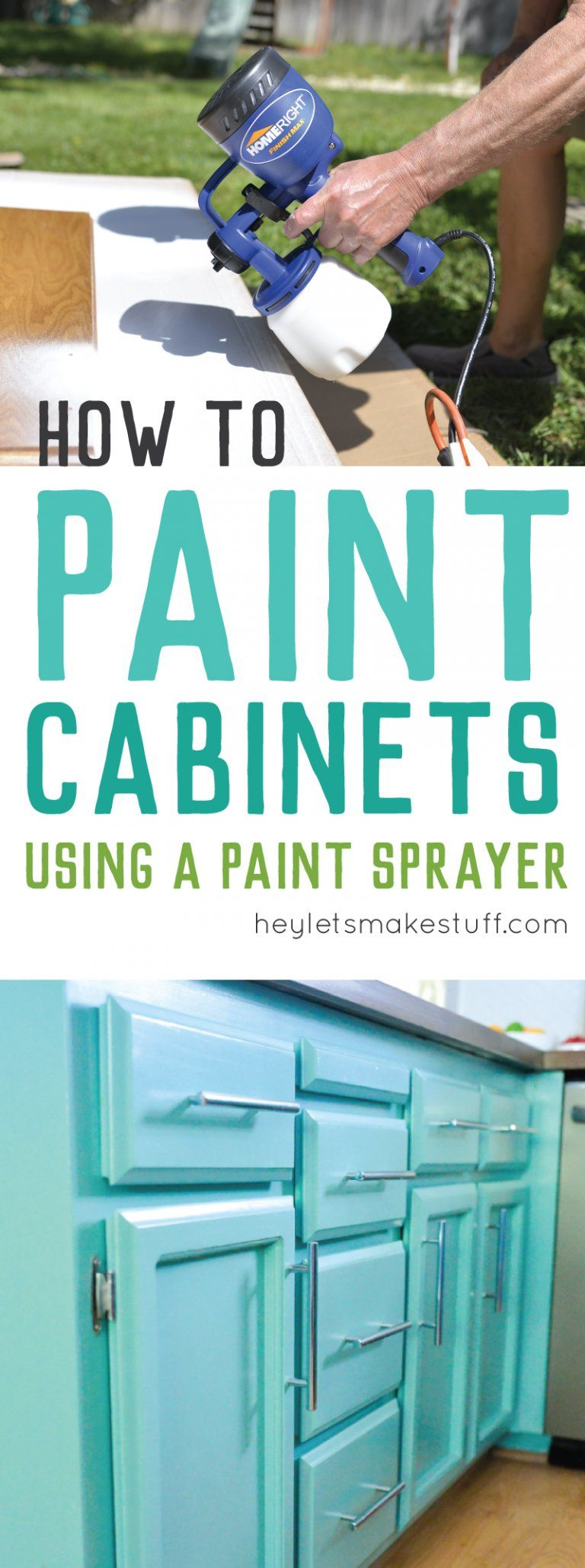 Painting cabinets? Get a perfect finis by taking the time to paint ...