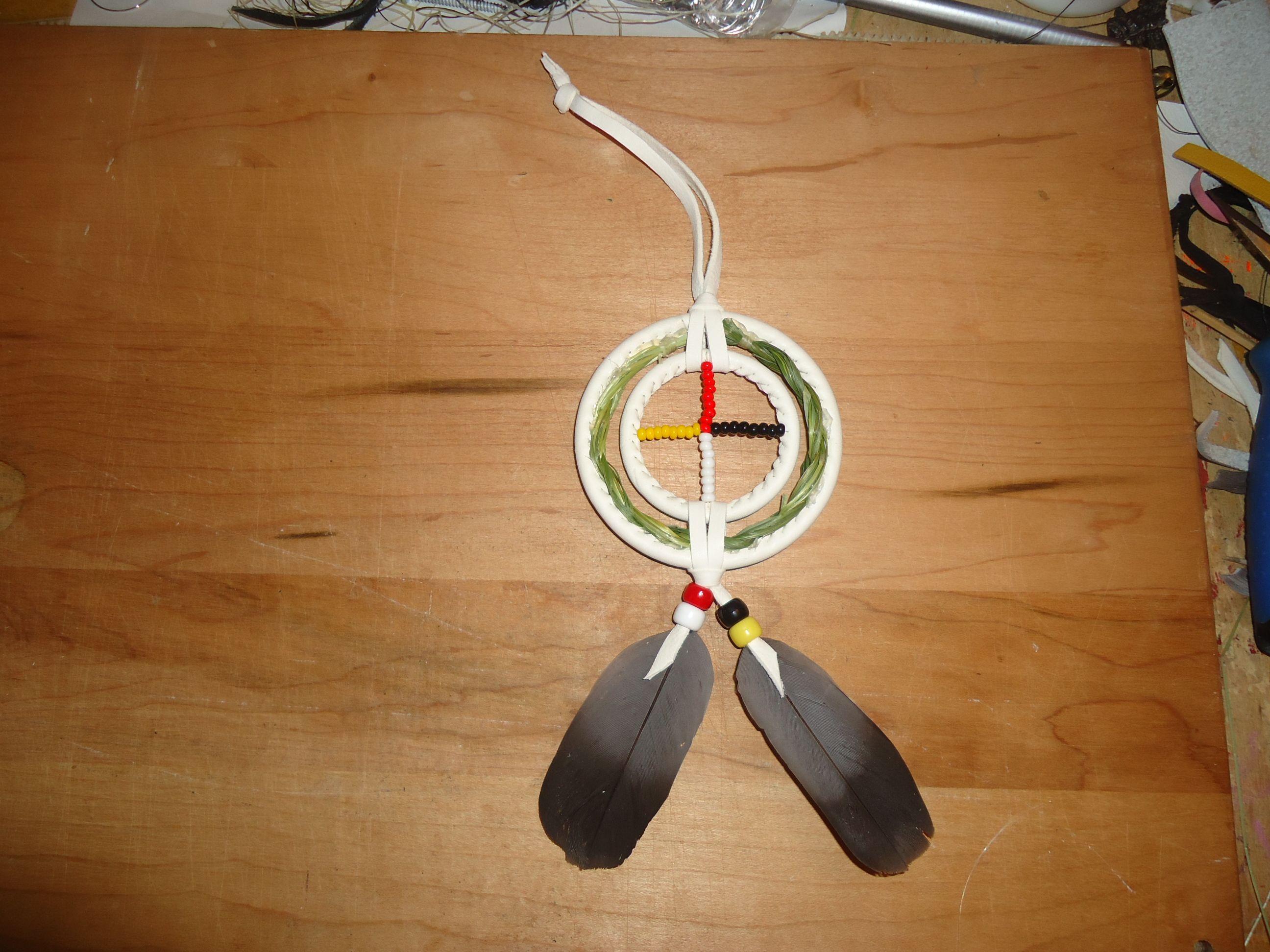 Sweetgrass Medicine Wheel