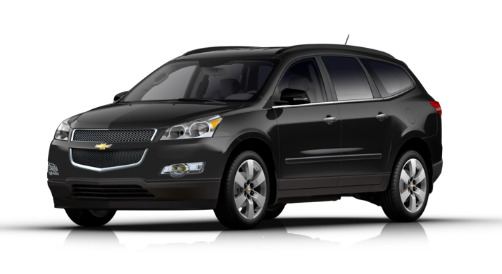2012 Chevrolet Traverse Exterior Color Option Black Granite