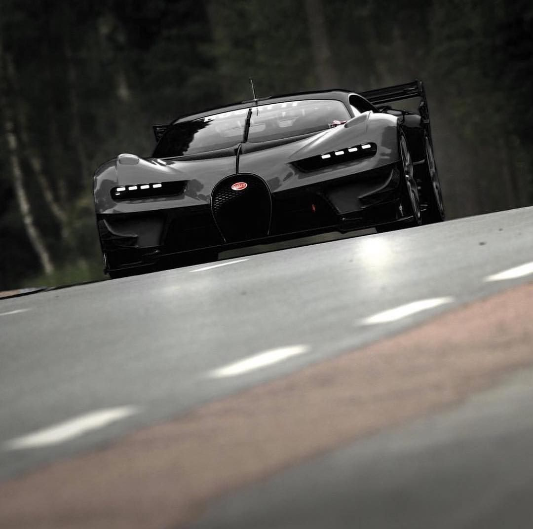 All Black Bugatti Vision Gran Turismo Say No More Carlifeatyle