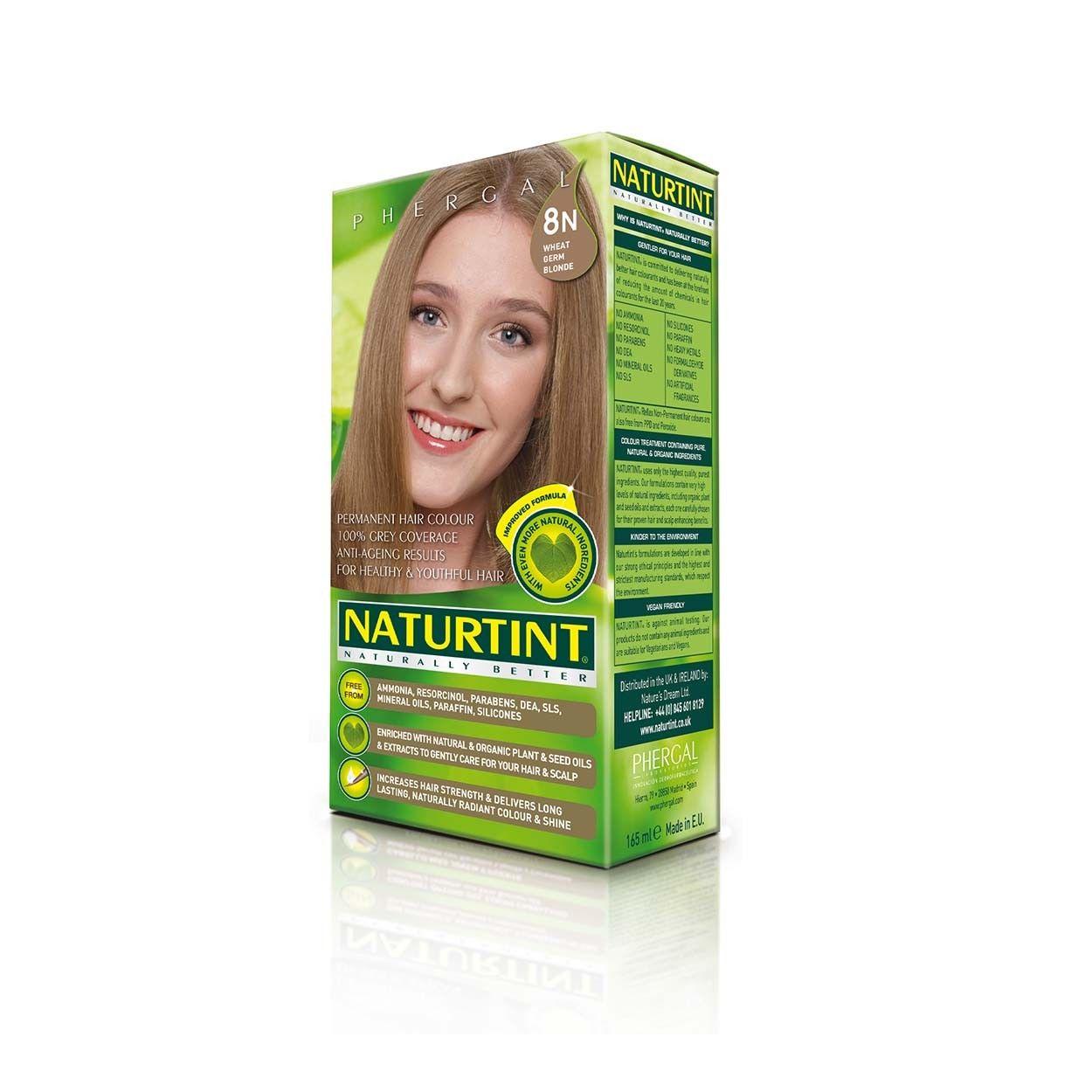 Naturtint Permanent Hair Color 8n Wheat Germ Blonde Dream Face