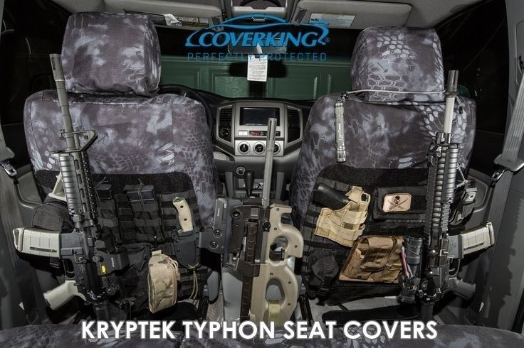 Camo Skanda Kryptek Typhon Tactical Front Seat Covers For Chevy