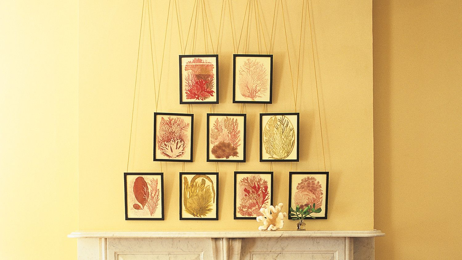 Use Picture Rails | Picture rail, Nail holes and Display