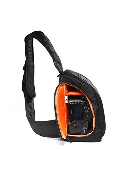 Small Dslr Camera Back With Compact Ng Structure And Dual Anti Theft Zipper Entry Cross Shoulder Sling Tablet Pocket