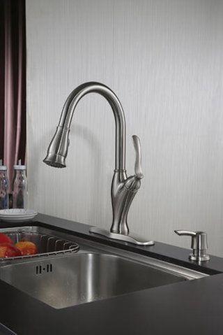 Tuscany 174 Jensen Single Handle Pull Down Kitchen Faucet