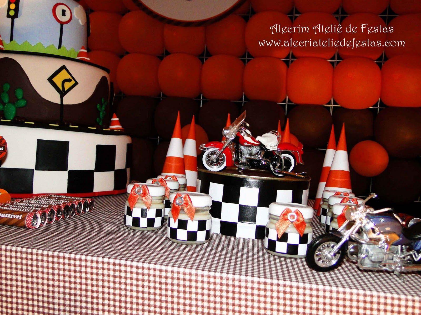 Resultado de imagem para festa moto infantil