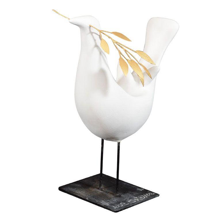 peace bird. interieurs. via 1st dibs.